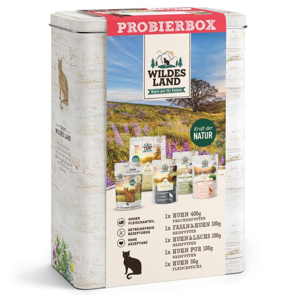 Wildes Land Probierbox Katze