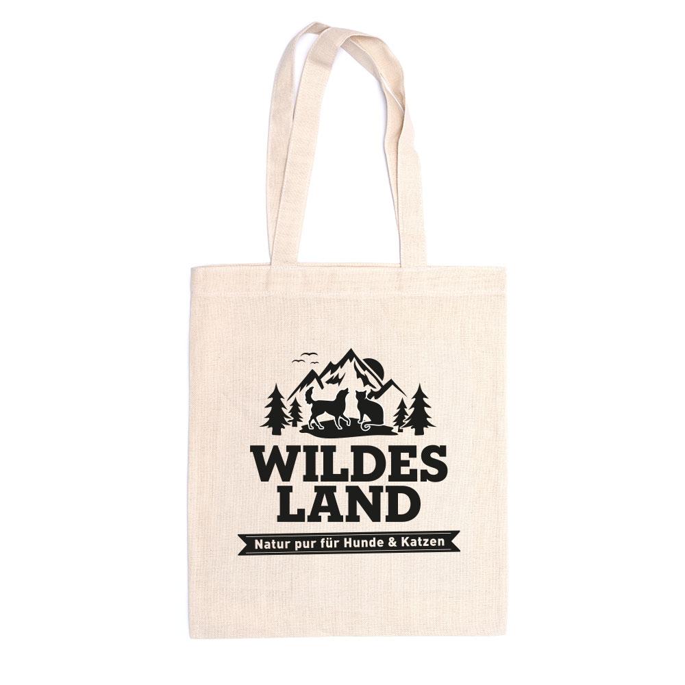 Wildes Land Baumwolltasche